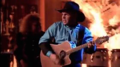 The 40 Best Music Videos of the 90s, Garth Brooks - Standing Outside the Fire