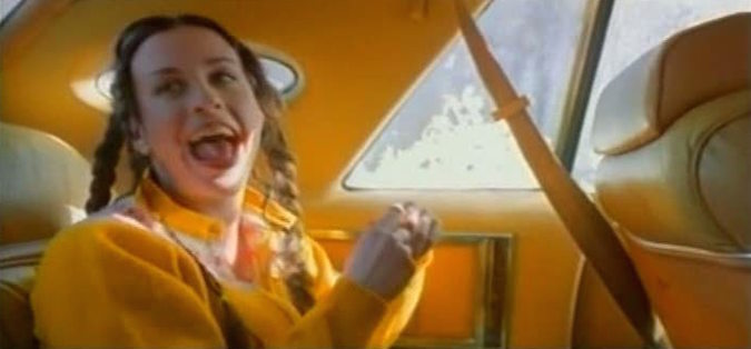 The 40 Best Music Videos of the 90s, Alanis Morissette - Ironic