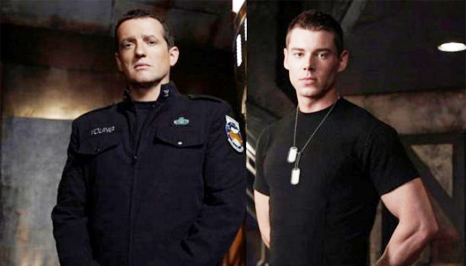 Brian J. Smith and Louis Ferreira on 'Stargate Universe'