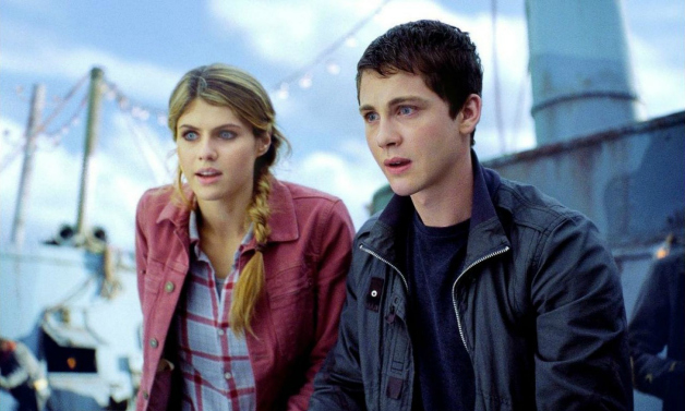 Percy Jackson and Annabeth