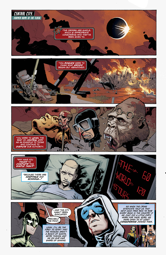 Forever Evil: Rogues Rebellion #2 Preview 1