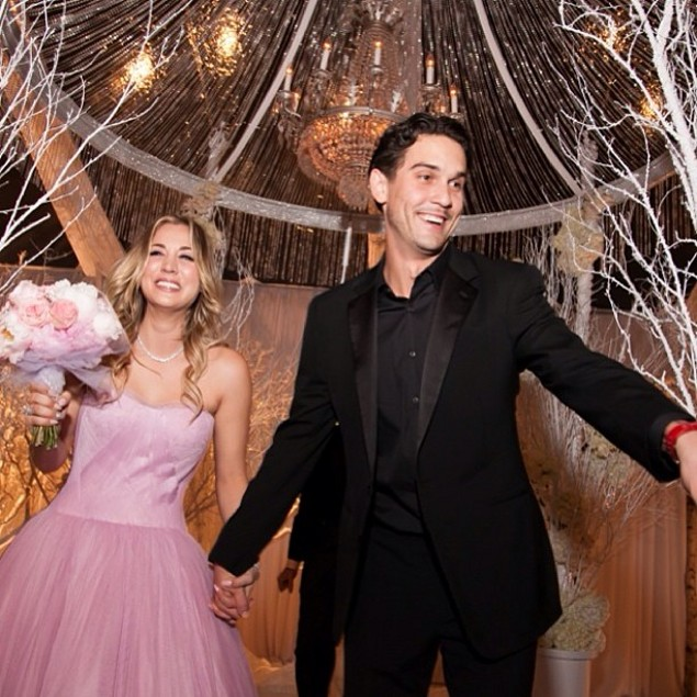 Kaley Cuoco Married