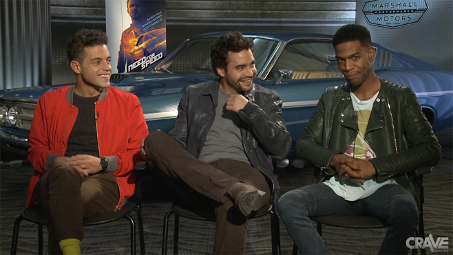 Need for Speed VIDEO: The Cast of Need for Speed  Need for Speed ...