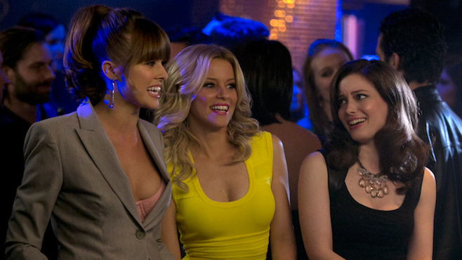 Walk of Shame Sarah Wright Olsen Elizabeth Banks