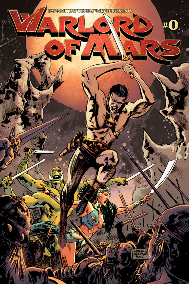 Warlord of Mars 0 Cover