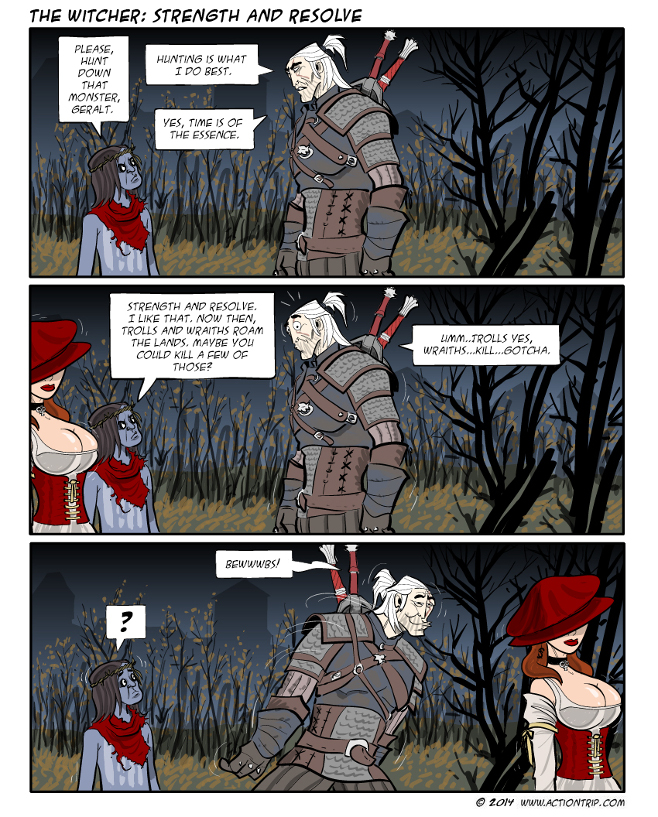 witcher matter of conscience comic pdf