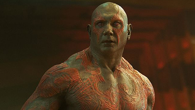 Dave Bautista Drax the Destroyer Guardians of the Galaxy