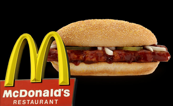 is the mcrib really that bad for you mcdonald s attempts to prove