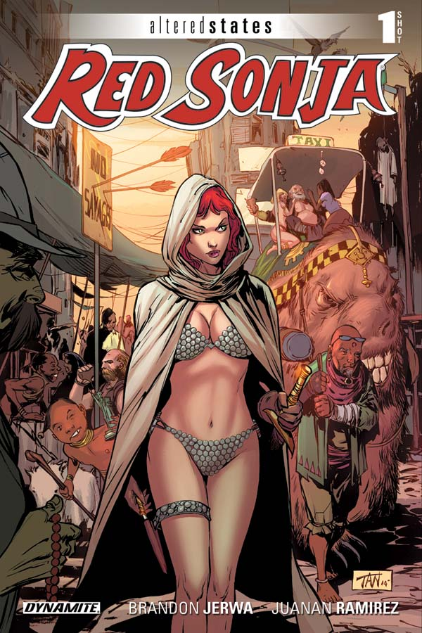 Altered States Red Sonja