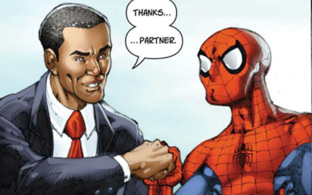 Spidey and Obama