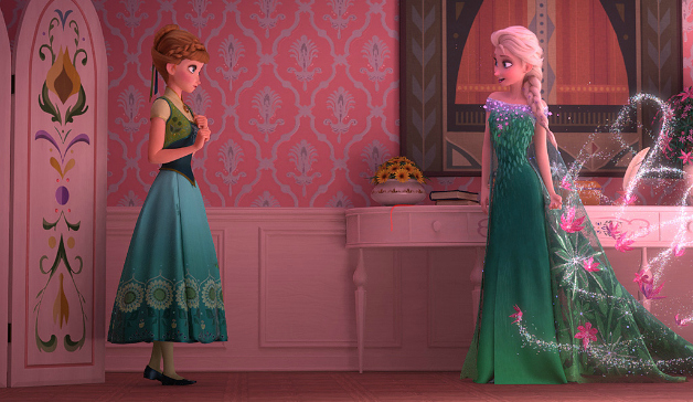 Frozen Fever dresses
