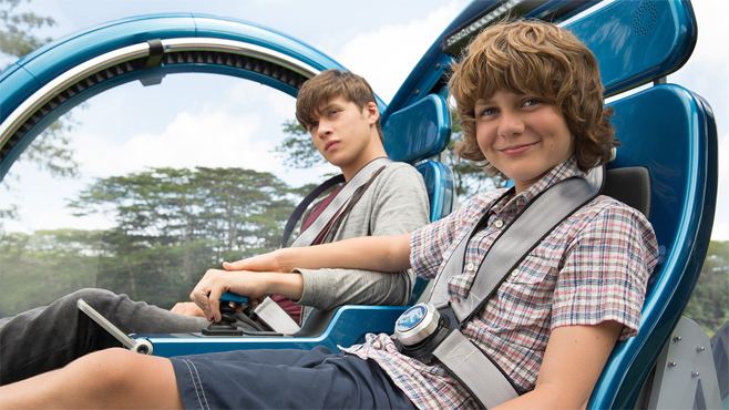 Jurassic World Theme Park Fictional Theme Parks in Movies