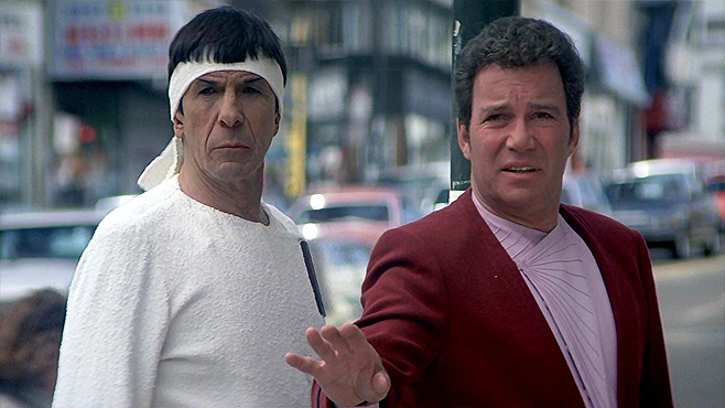 Star Trek IV The Voyage Home Time Travel Movies