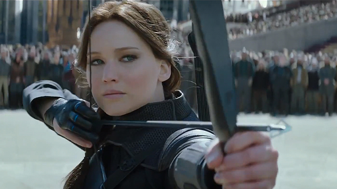 The Hunger Games Mockingjay Part 2 Jennifer Lawrence