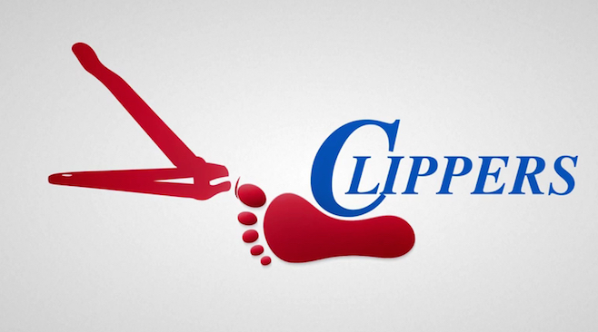 fake clippers logo