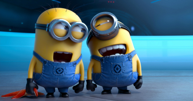 Minions giggling