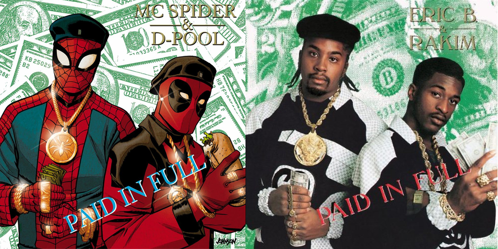 Spiderman Deeadpool