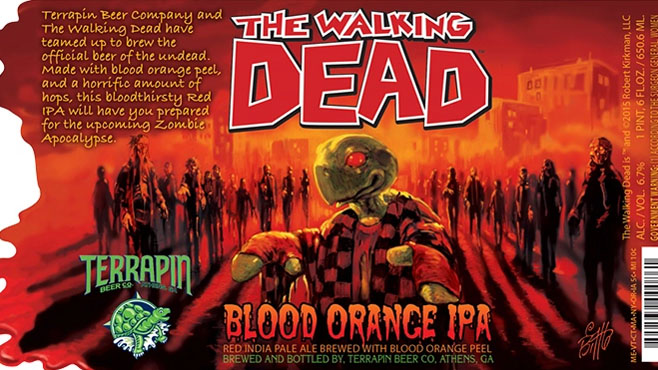 The Walking Dead Terrapin Beer