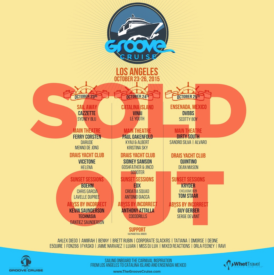 Groove Cruise Poster