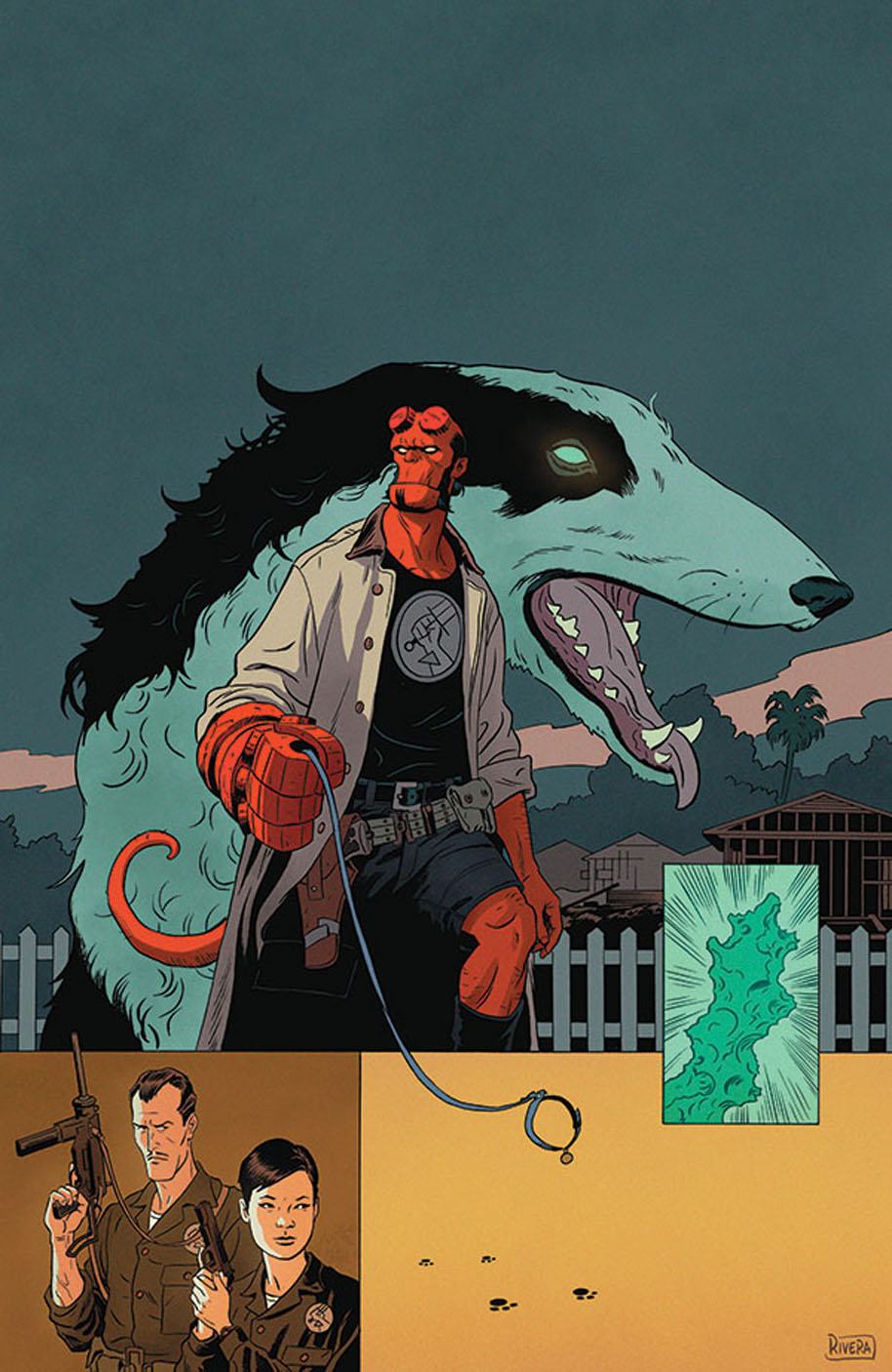 Hellboy and the BPRD 1953 Issue 2