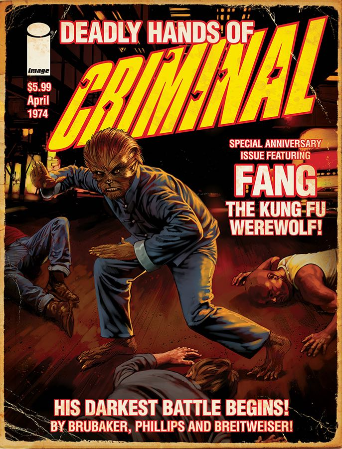 Criminal Fang The Kung fu Werewolf