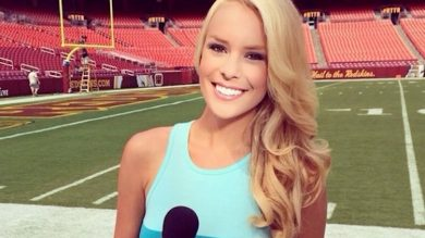 hottest female sportscasters instagram
