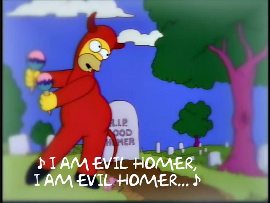 Evil Homer the simpsons meme generator will devour your afternoon