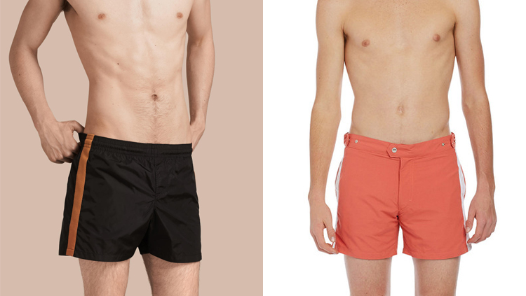 men's essentials, swim trunks