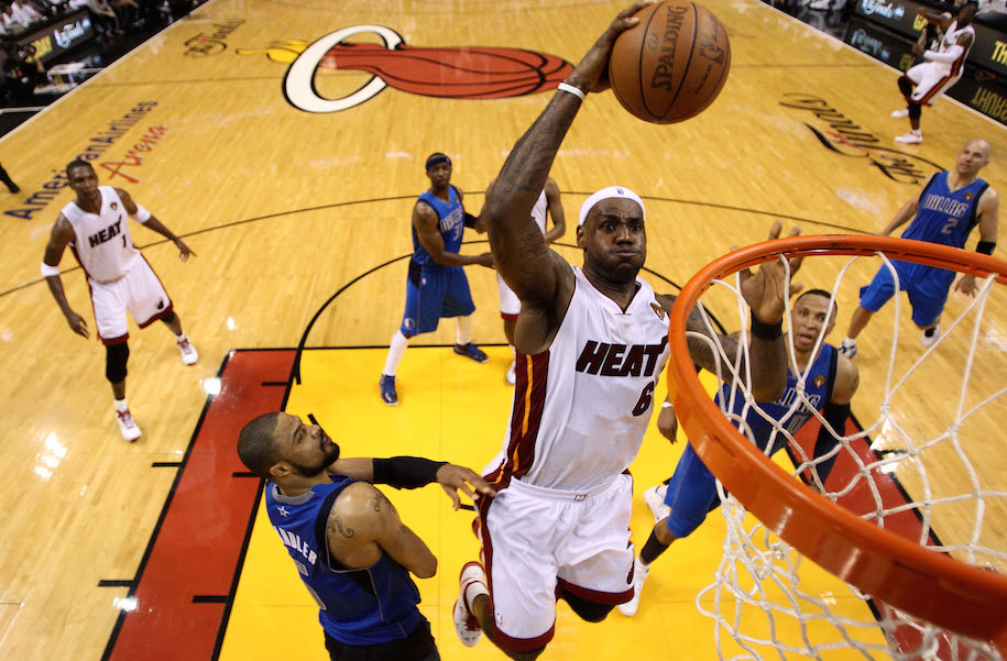 Game One of the 2011 NBA Finals at American Airlines Arena on May 31, 2011 in Miami, Florida. Getty Images