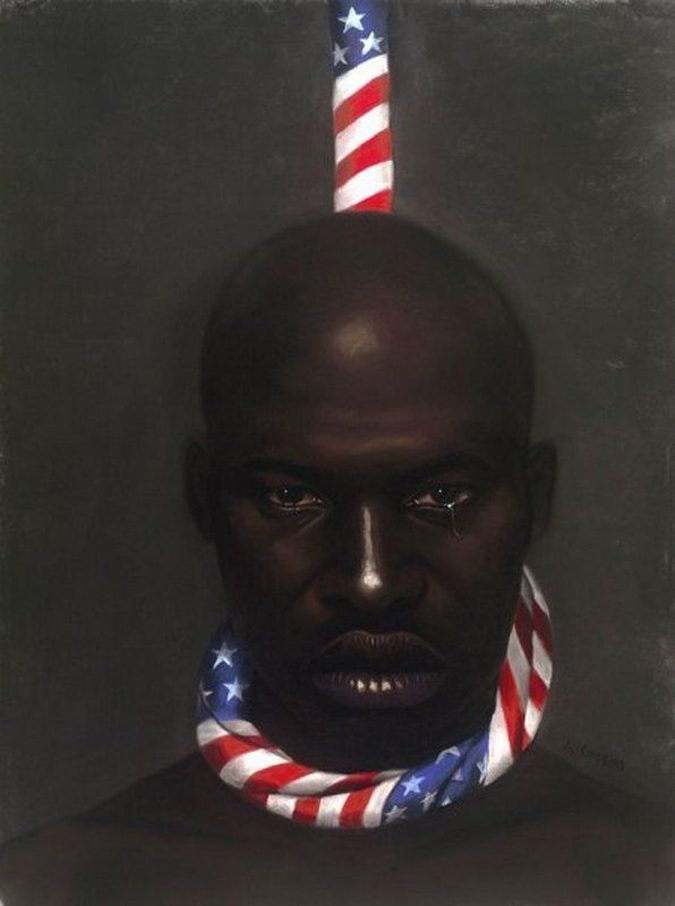 """Black Man In America,"" by Laurie Cooper"