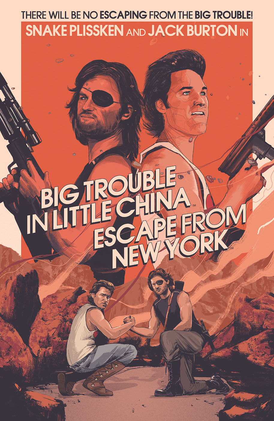 Big Trouble Escape NewYork 001 movie incentive cover