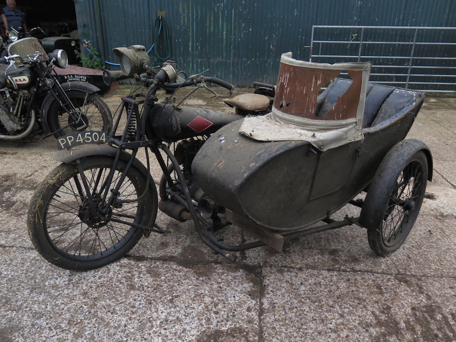 Four Classic Motorcycle Sidecars Found in UK Barn Go Up for Sale