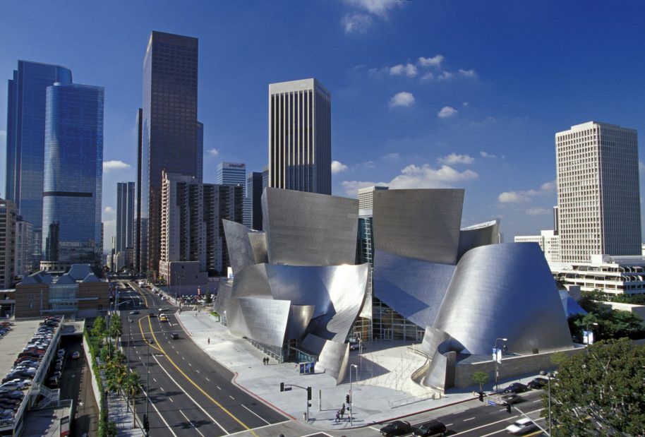 Frank Gehry helped transform LA Downtown with the LA Disney Concert Hall. Photo courtesy of LA Philharmonic.