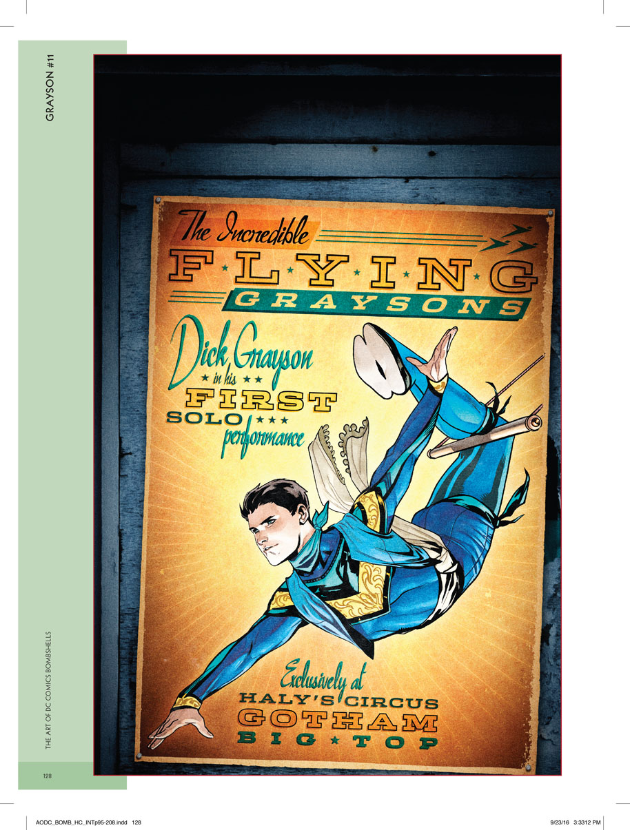 dick grayson poster