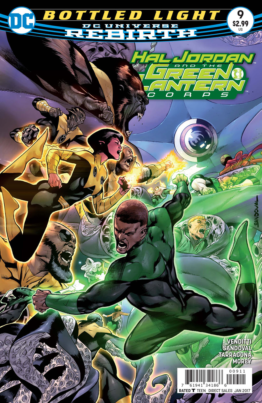 Hal Jordan and the Green Lantern Corps 9 cover
