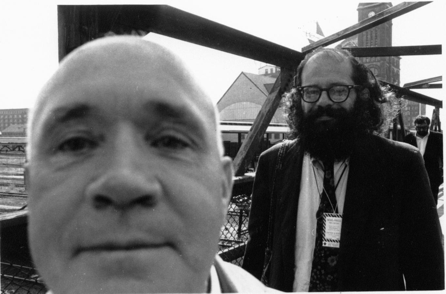 Jean Genet and Allen Ginsberg. Courtesy the Allen Ginsberg Project.
