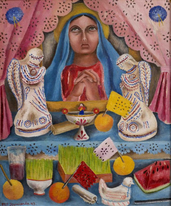 Our Lady of Sorrows, 1943, by María Izquierdo (Private Collection, USA).