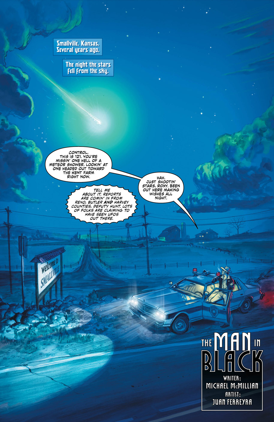 New Talent Showcase Superman page 1