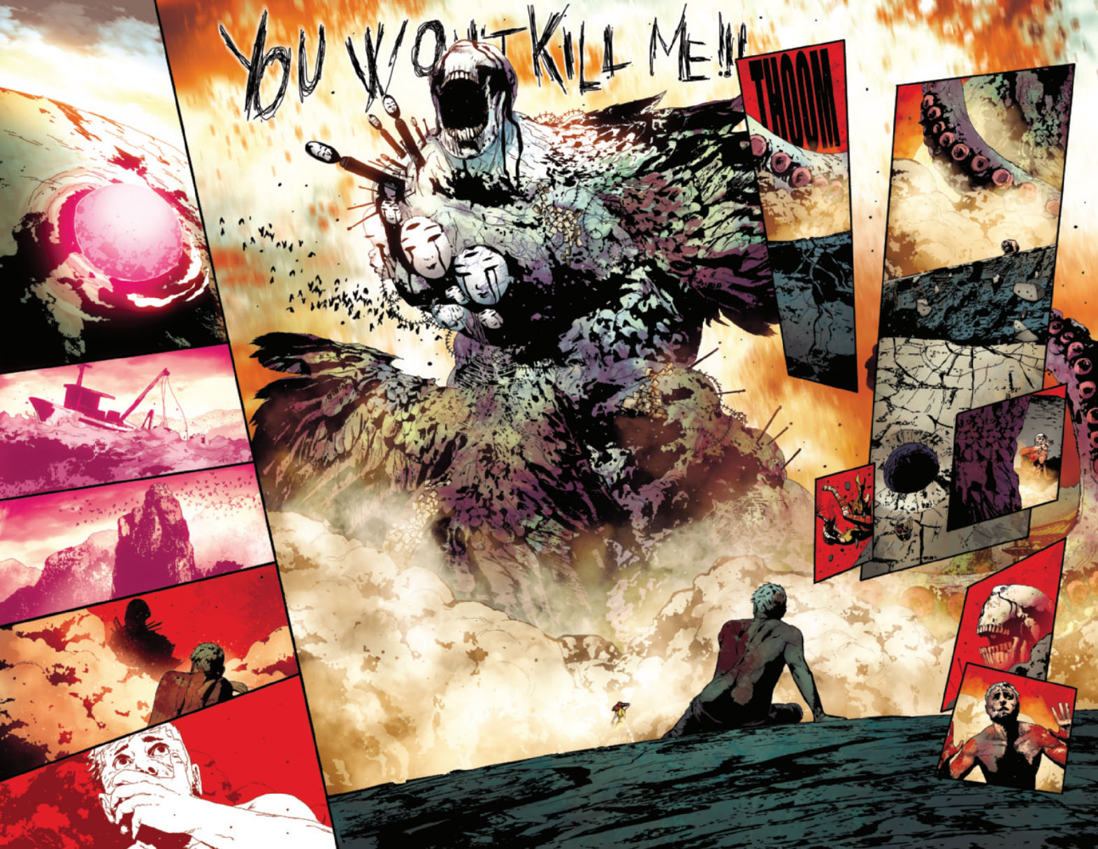 Old Man Logan 13 pages 4 and 5