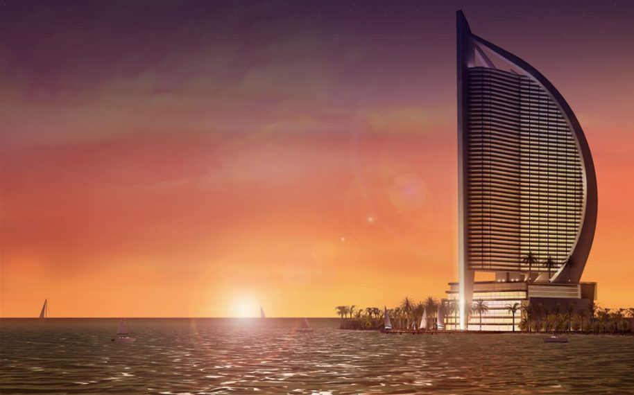 Projected design image for Trump Panama Ocean Club. Courtesy of Getty Images.