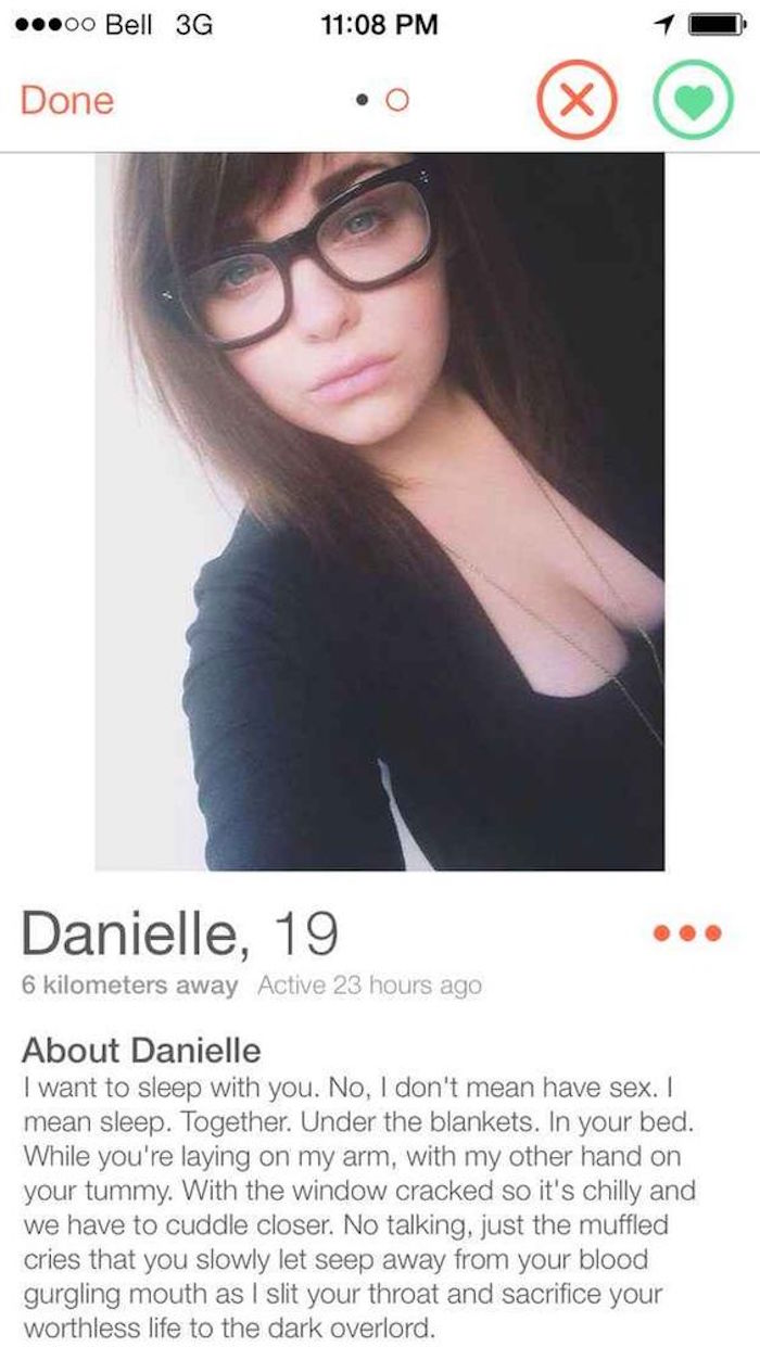 Dating profile that will get you laid