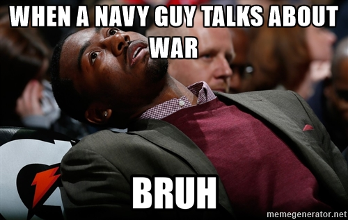Bruh meme navy guy
