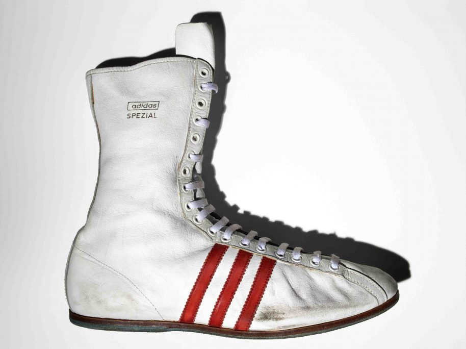 Muhammad Alis Special Adidas Boxing Boot
