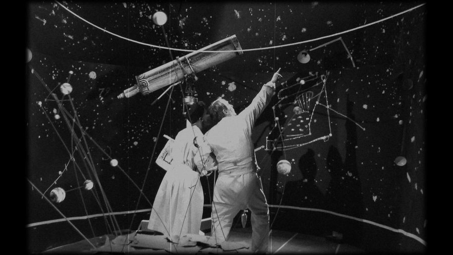 William Kentridge The Refusal of Time with collaboration of Philip Miller, Catherine Meyburgh and Peter Galison Film Still 2012 5-channel video projection, colour, sound, megaphones, breathing machine 30 minutes