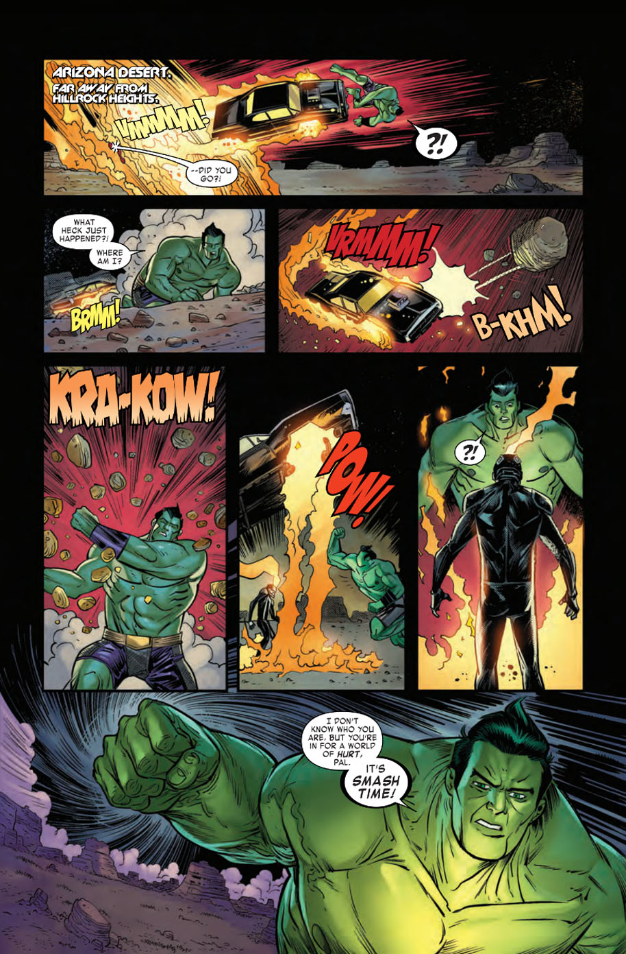 Ghost Rider 3 page 1