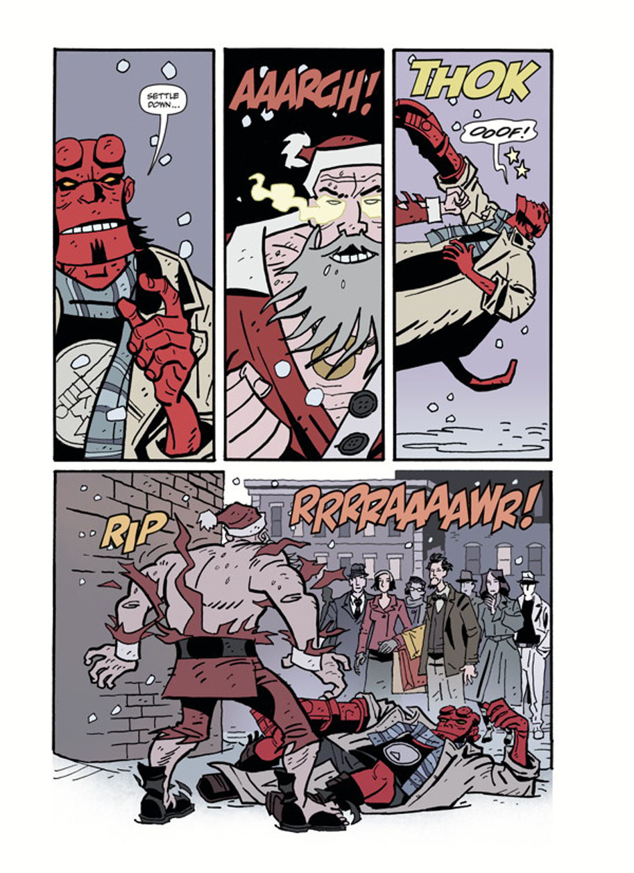 Hellboy Winter Special God Rest Ye page 4