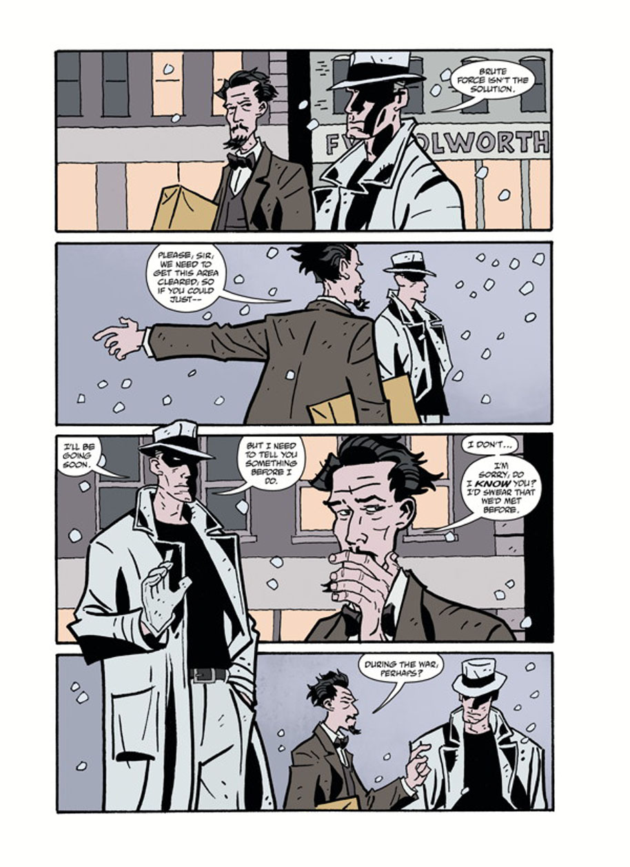 Hellboy Winter Special God Rest Ye page 6