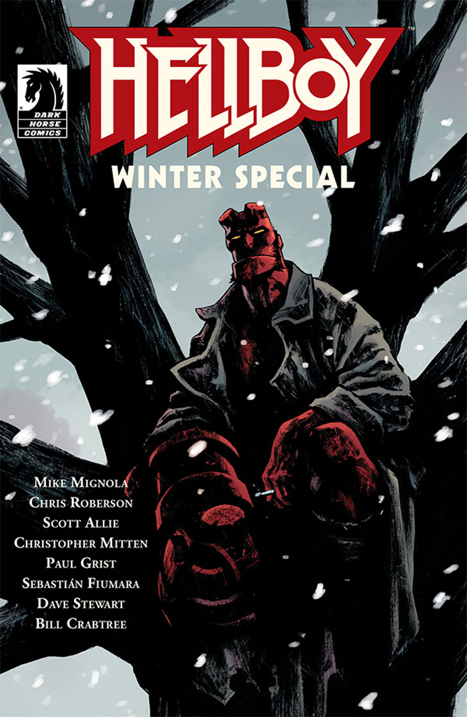 Hellboy Winter Special cover