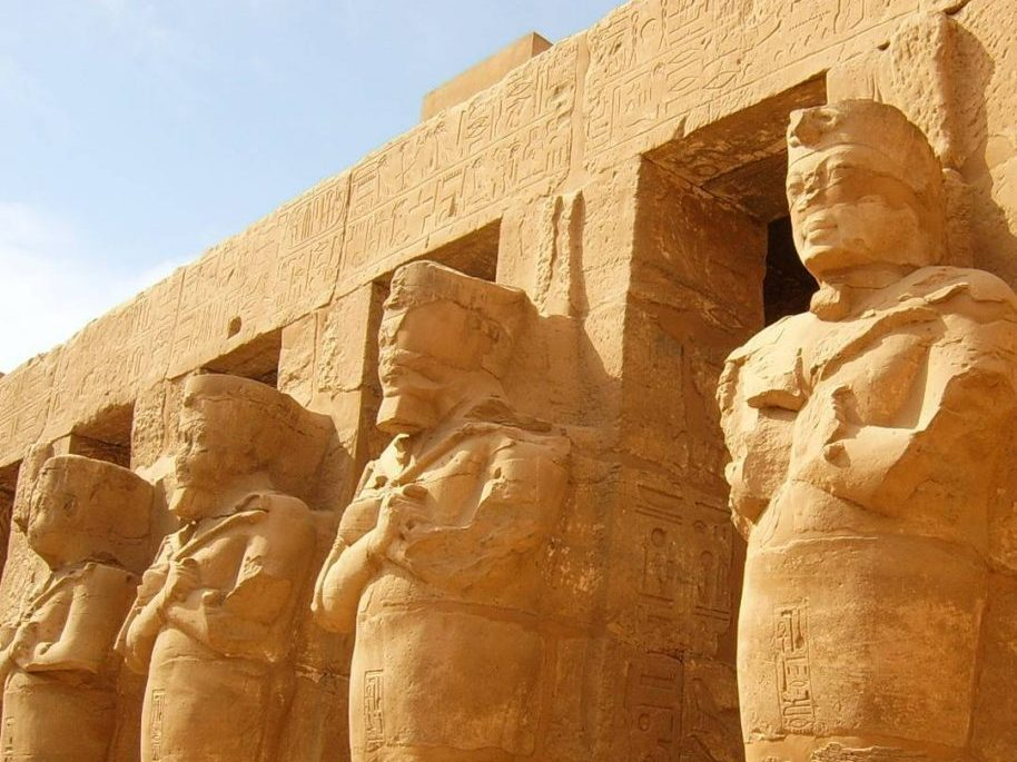 Photo: The Karnak Temple Complex in Luxor, Egypt.