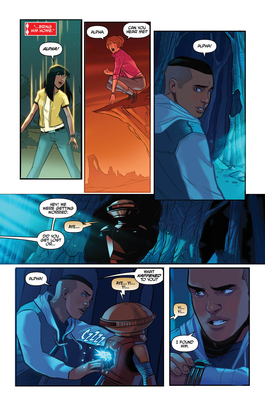 Justice League Power Rangers 1 page 5